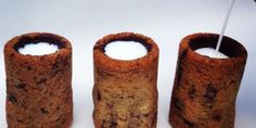 New York baker Dominique Ansel made chocolate chip cookie shot glasses for SxSW attendees.