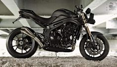 "Triumph Speed Triple ""Stealth""  by Triumph Munich-Motorcycle Specifications"