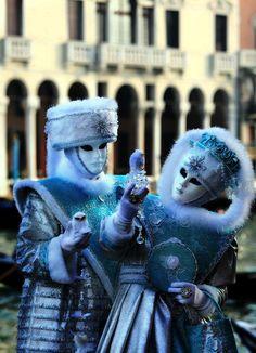 Photo, masques vénitiens, carnaval de Venise
