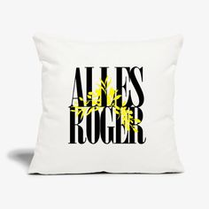 Alles Roger Home Deco, Must Haves, Throw Pillows, Tees, How To Make, Kleding, Toss Pillows, T Shirts, Cushions