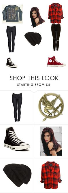 """""""❤️"""" by aimeevega649 ❤ liked on Polyvore featuring Ksubi, Converse, Revlon and Phase 3"""