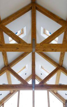1000 Images About Oak Roof Trusses On Pinterest Braces