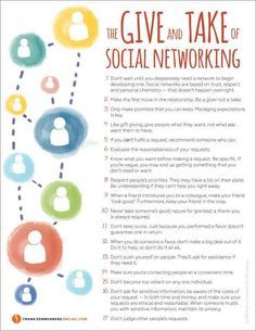 The Give and Take of Social Networking I www.FrankSonnenbergOnline.com