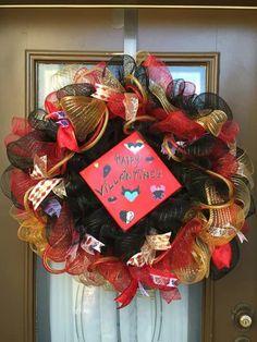 Happy Villaintines Day Wreath