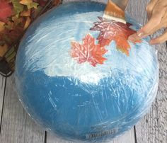 Large Fall Leaf Bowl