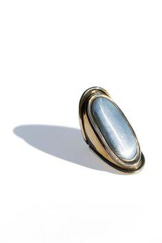 Pamela Love - Brass Two Tone Mood Ring   BONA DRAG
