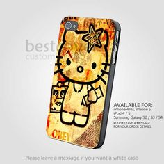 Hello Kitty Obey Design for iPhone 4/4S/5 iPod 4/5 Galaxy S2/S3/S4  BestCover on Luulla