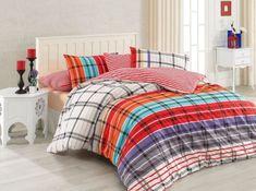 Lenjerie de pat Ranforce Riva V5 #homedecor #inspiration #interiordesign #decoration #bedroomdecor Bed Sheets, Comforters, Blanket, Interior, Design, Home Decor, Creature Comforts, Quilts, Decoration Home