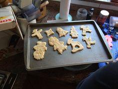 Vanille koekjes Griddle Pan, Desserts, Vanilla, Tailgate Desserts, Deserts, Grill Pan, Postres, Dessert, Plated Desserts
