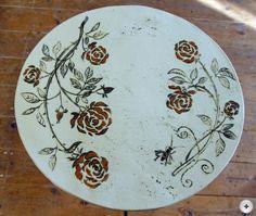 hauptsache keramik: Rosentisch