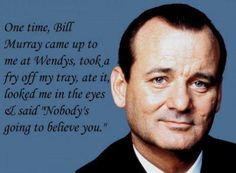 the natural - Bill Murray