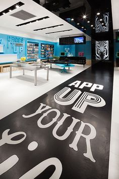Floor graphic application. AER by COORDINATION ASIA