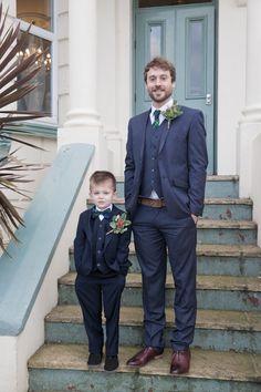 Tartan Tie Groom Bow Tie Pageboy Cosy Winter Christmas Seaside Wedding http://kerryannduffy.com/