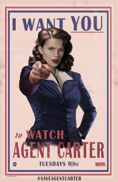 Agent Carter by Rahzzah.deviantart.com on @DeviantArt