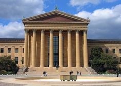 """The Philadelphia Museum of Art is among the largest art museums in the United States. It is fondly nicknamed the """"Parthenon on the Parkway"""" (the Benjamin Franklin Parkway in Philadelphia, Pennsylvania). New York Day Trip, Day Trip To Nyc, Visit Philadelphia, Philadelphia Museum Of Art, Van Gogh, Modern Restaurant, Tourist Trap, Great Places, Art Museum"""