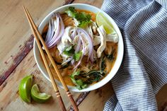 Rotisserie Chicken Coconut Curry Soup | Kitchn