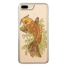 #fishing - #Colorful Goldfish Koi Carved iPhone 7 Plus Case