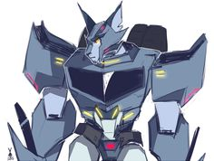 He may be a Decepticon but he cute .-.