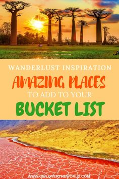Looking for some wanderlust inspiration/ For places to add to your bucket list? In this post, I will show you 23 amazing places that you need to visit. Wanderlust destinations / Amazing places to visit / Bucket list / Bucket list inspiration / Travel tips / Travel around the world / Places to visit / Amazing places to see / Bucket list destinations / Travel bucket list / Wanderlust bucket list / Places to add to your bucket list
