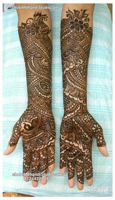 Khafif Mehndi Design, Mehndi Designs Book, Indian Henna Designs, Full Hand Mehndi Designs, Mehndi Designs For Girls, Stylish Mehndi Designs, Dulhan Mehndi Designs, Mehndi Designs For Fingers, Wedding Mehndi Designs