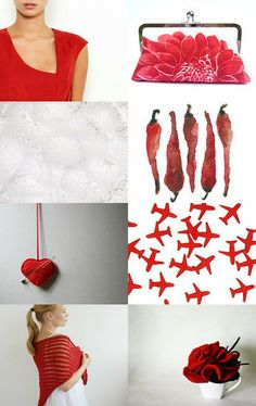 Red spring by maya ben cohen on Etsy--Pinned with TreasuryPin.com
