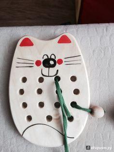 Иллюстрация 6 из 13 для Кот-шнуровка (Ш-058) | Лабиринт - игрушки. Источник: Dotti