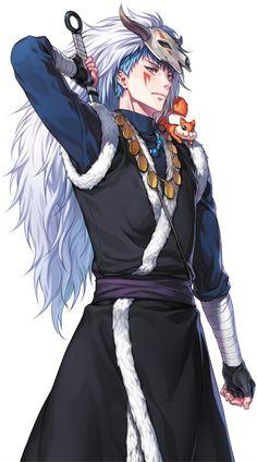 Akatsuki no Yona/Yona of the Dawn - Shin-ah the blue dragon