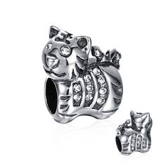 Little Tiger Muppets Charm 925 Sterling Silver