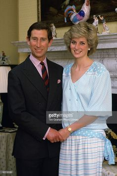 The Prince And Princess Of Wales At Home In Kensington Palace  (Photo by Tim Graham/Getty Images)