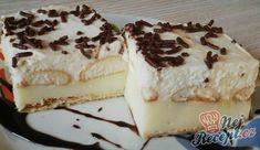 Kremes yogurt with biscuit Cheesecakes, Yummy Treats, Tiramisu, Yogurt, Biscuits, Food And Drink, Baking, Ethnic Recipes, Lemon Tarts