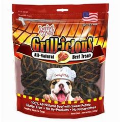 Loving Pets Grillicious Dog Treats Beef 22Ounce >>> Read more reviews of the product by visiting the link on the image. (This is an affiliate link)