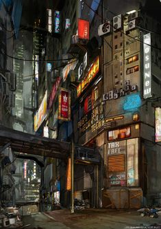 Graphic Design Inspiration, Character Inspiration, Graffiti Wallpaper, Futuristic City, Beautiful Streets, Fantasy World, Civilization, Cyberpunk, Concept Art