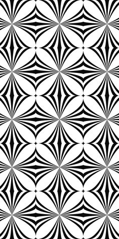 Repeating monochrome curved shape pattern