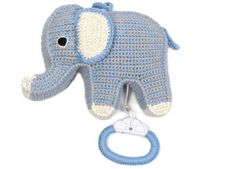snoezige muziekdoos olifant Anne-Claire Petit | kinderen-shop Kleine Zebra