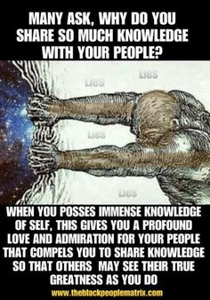When you love being your black self because you love and understand from which the struggle your ancestors came. But what's funny is why people question your love for blackness but they don't question when you hate it. Black Power, Black Hebrew Israelites, Black History Facts, Black Pride, We Are The World, Thats The Way, African American History, Awakening, Life Quotes