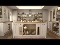 Tewkesbury Framed Cashmere Kitchen | Shaker Kitchens | Howdens Joinery