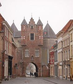 Maria- of gevangenenpoort Bergen, Barcelona Cathedral, Netherlands, Holland, Amsterdam, City, Travel, The Nederlands, The Nederlands