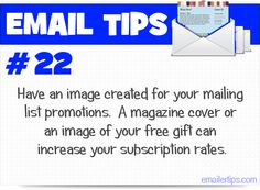 Email Marketing Tip #22  www.digicat.in/Emailmarketing.html