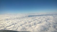 Loving the clouds! Flying back from Las Vegas