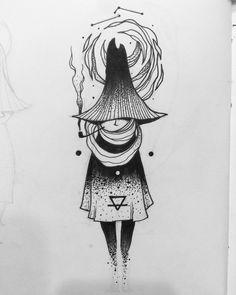 "hippie tattoo 738520038877715383 - prakashkc: ""Snusmumriken – practician of the occult. "" Source by Creepy Drawings, Dark Drawings, Creepy Art, Tattoo Drawings, Cool Drawings, Tattoos, Tattoo Illustrations, Occult Tattoo, Occult Art"