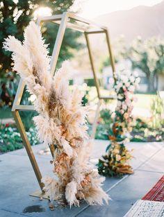 Ideas Wedding Ceremony Decorations Outdoor Boho For 2019 Wedding Ceremony Ideas, Wedding Arch Rustic, Wedding Altars, Outdoor Ceremony, Boho Wedding, Wedding Arches, Wedding Shoes, Wedding Trends, Trendy Wedding