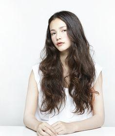 Double//Uchida Yumi 髪型 ヘアスタイル hair ロング