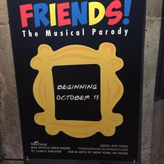 #friendsthemusicalparody