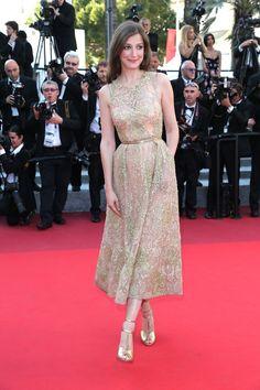 Cannes 2016 - Alexandra Maria Lara - Day 11 (montée des marches Elle)