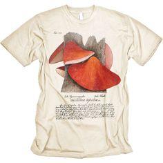 167615c98 Wild Mushrooms Wild Mushrooms, Stuffed Mushrooms, Graphic Tee Shirts, Science  Tshirts, Shirt