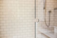 The Nook Within The Glass Door Makes It So That It Can Be Easily Pulled Out  · Glass ShowerShower DoorTake A ShowerSteam ...