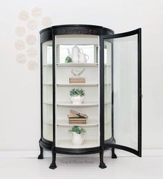 24 best painted curio cabinets images furniture makeover rh pinterest com