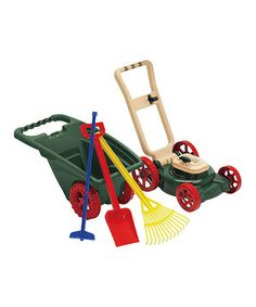 Another great find on #zulily! Budding Gardener Set by American Plastic Toys #zulilyfinds