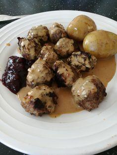 [homemade] Swedish meatballs