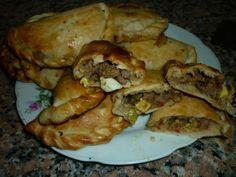 Empanadas caseras (microondas) Ver receta: http://www.mis-recetas.org/recetas/show/29798-empanadas-caseras-microondas